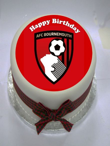 AFC Bournemouth Edible Cake Topper